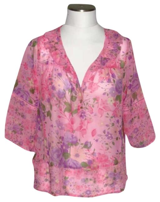Dream out loud by Selena Gomez Top Pink Floral