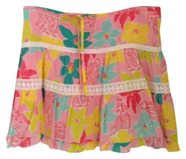 Preload https://item4.tradesy.com/images/lilly-pulitzer-pink-lace-floral-preppy-bright-knee-length-skirt-size-6-s-28-342223-0-0.jpg?width=400&height=650