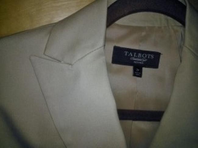 Talbots Tan/Khaki Jacket