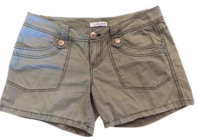 Preload https://item4.tradesy.com/images/unionbay-green-kind-of-artichoke-or-army-green-minishort-shorts-size-4-s-27-3422593-0-0.jpg?width=400&height=650