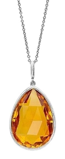 Preload https://item4.tradesy.com/images/40-ctw-citrine-pendent-in-sterling-silver-3423013-0-0.jpg?width=440&height=440