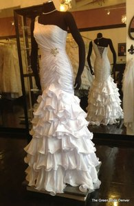 Fit N Flare Ruffles Wedding Dress