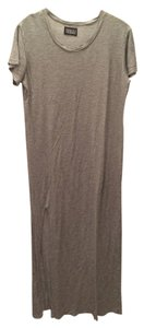 Grey Maxi Dress by Pencey Maxi Standard