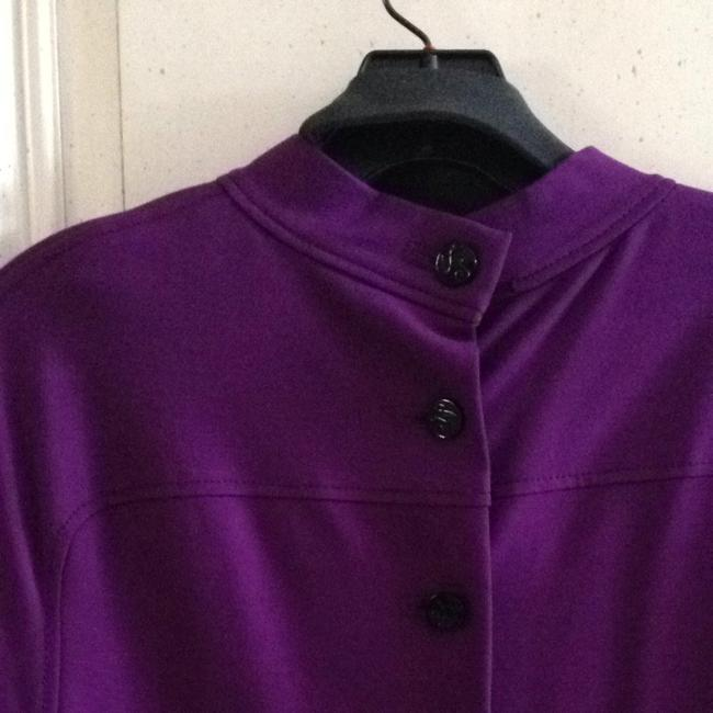 Zac Posen short dress Purple on Tradesy