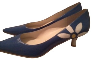 To the Max Heels Daisy New Blue Pumps