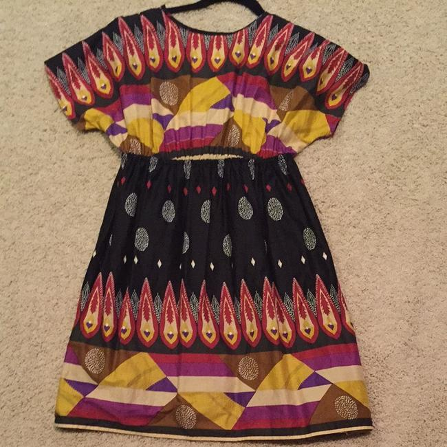 Miuse short dress Black, Multi on Tradesy