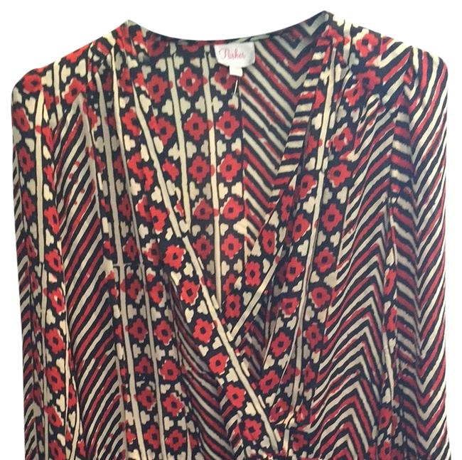 Preload https://img-static.tradesy.com/item/3425029/parker-multi-redblack-cream-floral-cross-top-mid-length-workoffice-dress-size-2-xs-0-0-650-650.jpg