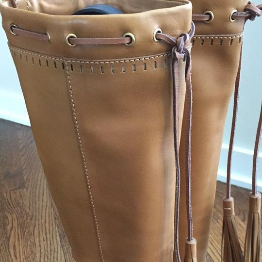 Saint Laurent Tan Boots