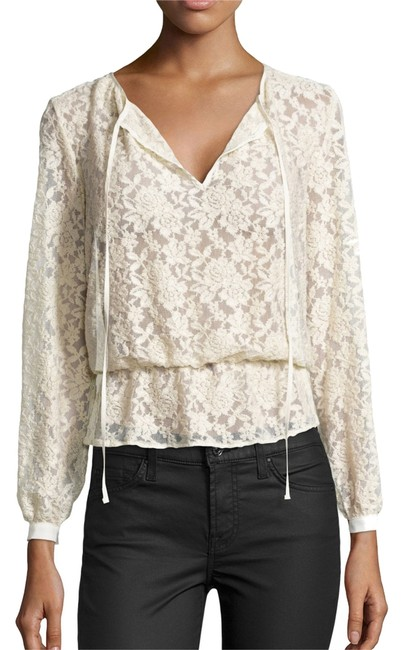 Nicole Miller Lace Stretchy Top