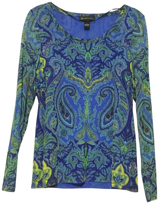 Preload https://img-static.tradesy.com/item/3425401/inc-international-concepts-blue-finest-paisley-blouse-size-petite-12-l-0-1-650-650.jpg