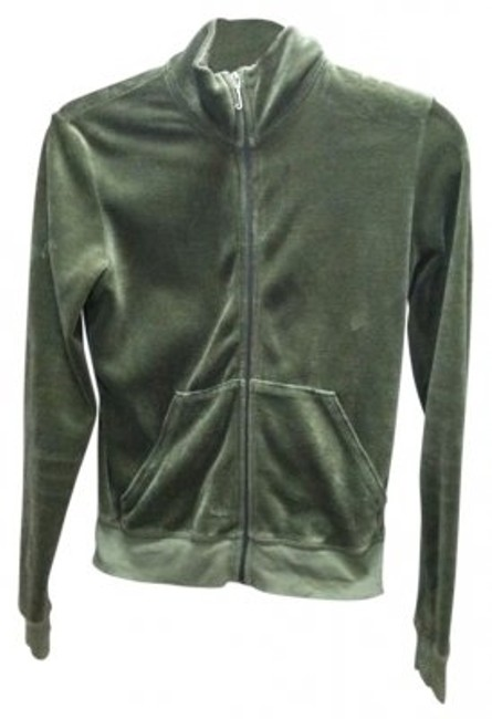Preload https://item1.tradesy.com/images/juicy-couture-green-velour-track-jacket-sweatshirthoodie-size-8-m-29-30-34255-0-0.jpg?width=400&height=650