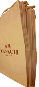 Coach Shopping Paper Small Lot Of 3 Gift Tote