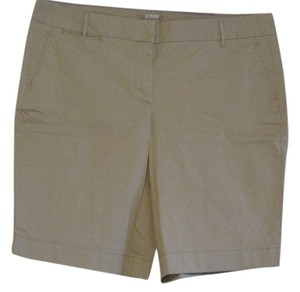 J.Crew Chino Bermuda Shorts Natural