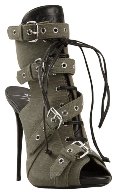 Item - Army Green Militare Boots/Booties Size US 10 Narrow (Aa, N)
