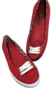 Tommy Hilfiger Red Flats