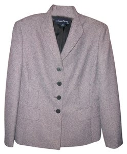 Evan Picone Brown Tweed Blazer