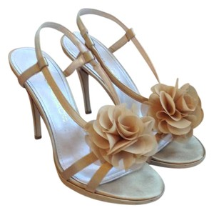 Caparros Nude Evening champagne Sandals