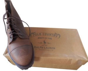 Polo Ralph Lauren Casual Leather Brown Boots