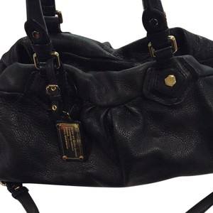 Marc by Marc Jacobs Satchel in Black And Gold