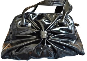 Valentino Patent Leather Bow Shoulder Bag