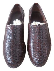 Cole Haan Casual Leather Brown Flats