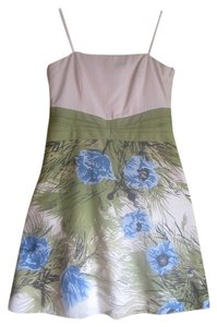 Ann Taylor short dress Semi-Floral/ Cream Floral Sunday on Tradesy