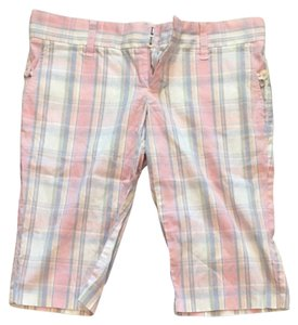 Juicy Couture Shorts Pastel Plaid