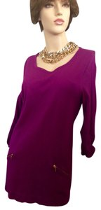 Alfani short dress Magenta on Tradesy