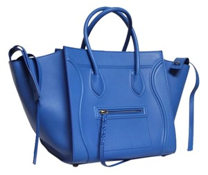 Cline Runway Electric Tote in Blue