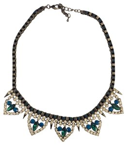 Hautelook Art Deco Style Crystal Bead Necklace