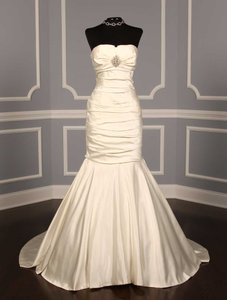 Ines Di Santo Silk Duchess Satin Gown Wedding Dress