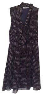 Blu Pepper short dress Navy Sleeveless on Tradesy