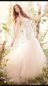 Jim Hjelm 8416 Blush Wedding Dress