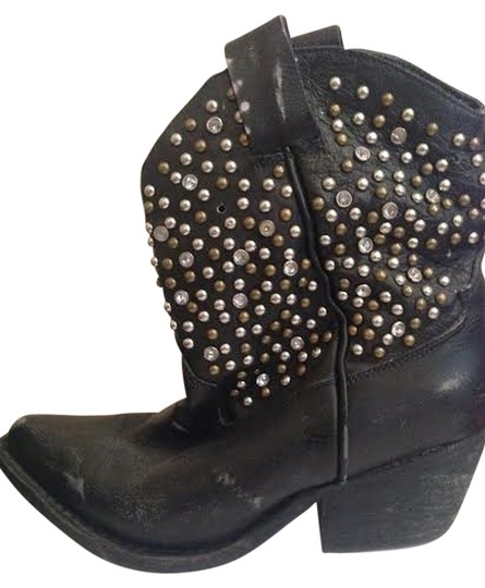 Jeffrey Campbell Studs Country Black Boots