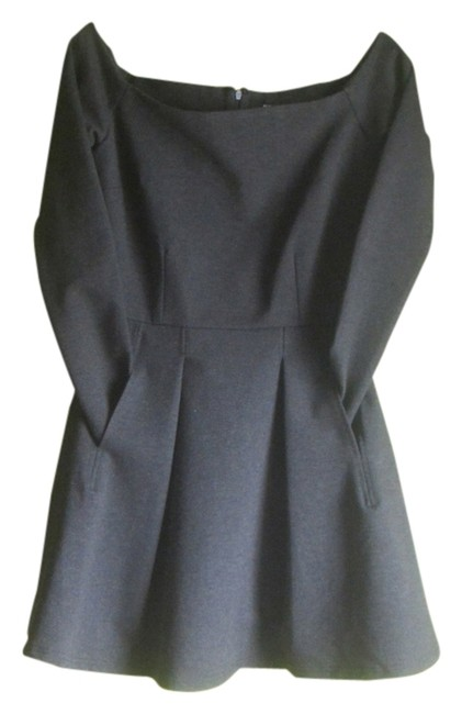 Olivaceous short dress Charcoal Grey Junior on Tradesy