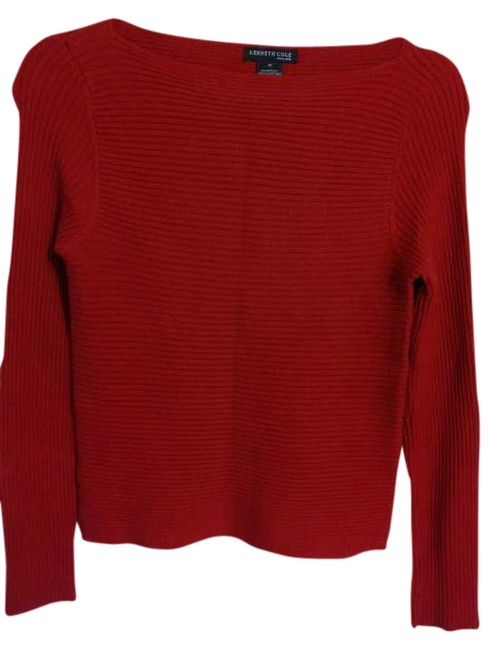 Preload https://item2.tradesy.com/images/kenneth-cole-red-sweaterpullover-size-8-m-342956-0-0.jpg?width=400&height=650