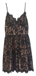 Aidan Mattox Lace Date Night Sleeveless Dress