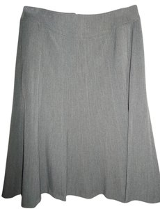Rafaella A-line Skirt Dark Heather Gray
