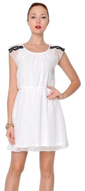 Jump Apparel short dress white on Tradesy
