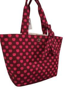 Kate Spade Tote in Pink and dark red