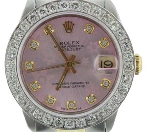 Rolex ROLEX DATEJUST 31 MM MIDSIZE DIAMOND WATCH WITH ROLEX BOX & APPRAISAL
