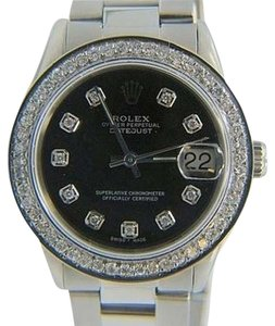Rolex ROLEX DATEJUST MIDSIZE WATCH 1.6 CT DIAMOND WATCH