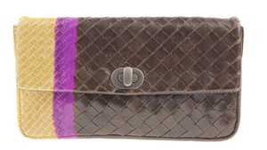 Bottega Veneta Colored Intrecciato Leather Multi Clutch