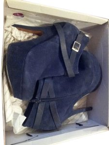 ALDO Suede Ankle Blue Boots