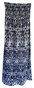 black, white, blue, and pink Maxi Dress by Xhilaration
