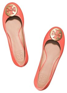 Tory Burch POPPY CORAL/GOLD Flats