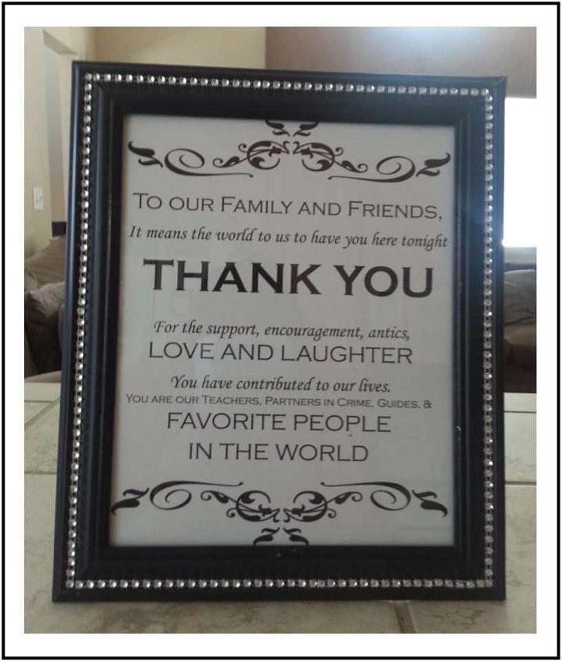 Black 16 - 8x10 Frames with Bling Reception Decoration - Tradesy