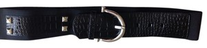 White House | Black Market Designer Studded Elastic Waist Belt