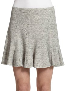 Derek Lam Godet Godet Pleats Fit And Flare Flare 10crosby 10crosby Skirt heather grey