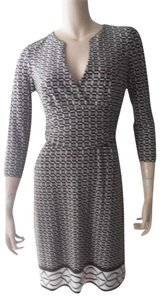 Muse short dress Brown and White on Tradesy